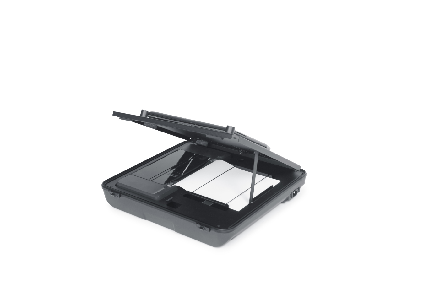 koffer laptop mobiele printer