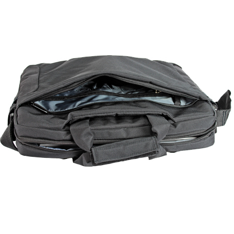 laptopbag business black zipper
